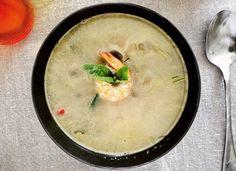 Zuppa Thai con gamberetti e zenzero | Cucinare Meglio