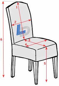 Cómo coser una cubierta para una silla - Línea Decor