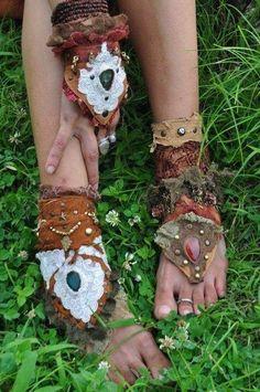 gypsy wrist and foot gear diy idea