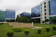 Inchiriere birou in complex modern din zona Militari Bucharest, Offices, Multi Story Building, Sidewalk, Modern, Trendy Tree, Side Walkway, Walkway, Desk
