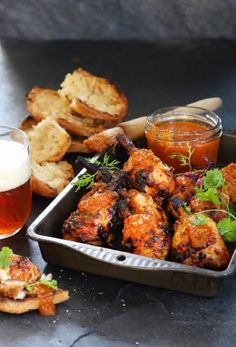 Try this crowd pleasing peri peri chicken lollipops recipe. The only problem with good peri-peri chicken, is that you'll find it hard to break the fiery addiction. Peri Peri Sauce, Peri Peri Chicken, Braai Recipes, Spicy Recipes, Chicken Recipes, South African Recipes, Ethnic Recipes, Lollipop Recipe, Chicken Lollipops