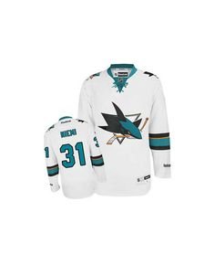 Authentic Logan Couture White Men s NHL Jersey  San Jose Sharks Reebok Away eeb899960