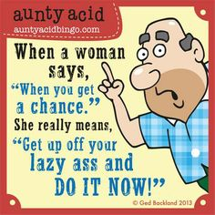 What are your tricks to get your spouse moving? HELP ME! :/ ;) :p