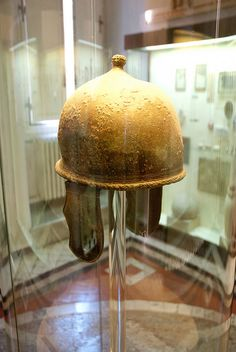 Montefortino Type A Helmet, from 4th to early 1st BC. Volterra