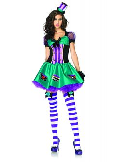 mad hatter costumes for women | Women's Mad hatter costume : Vegaoo Adults Costumes