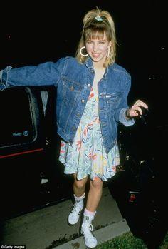 Young Debbie.