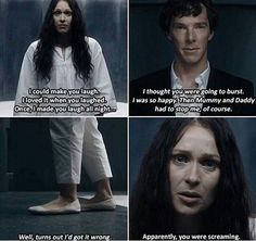 "This was so sad. Sherlock Season 4 Episode 3, ""The Final Problem."""