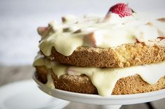 Three Ingredient Italian Sponge Cake