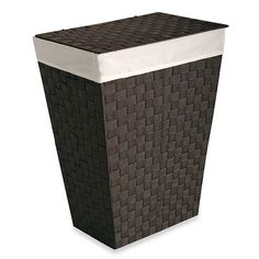 Lamont Home™ Carly Hamper in Chocolate - BedBathandBeyond.com