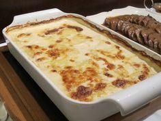 Batata Gratinada com Creme de Leite | Acompanhamentos > Receitas com Batata | Receitas Gshow