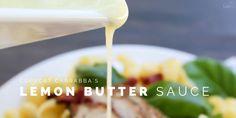 Lemon Butter Sauce Twitter