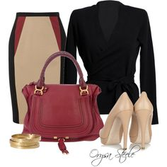 """""""At the Office"""" by orysa on Polyvore"""
