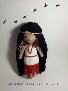 Amigurumeando con la Luna: Mi muñeca de ganchillo nº3. Isabelle Kessedjian