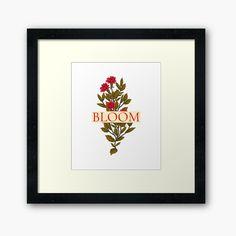 Framed Prints, Canvas Prints, Art Prints, Floral Clothing, Art Boards, Finding Yourself, My Arts, Bloom, Range