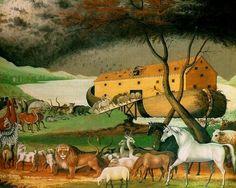Paintings of Noah, 1846 Edward Hicks Noah's Ark