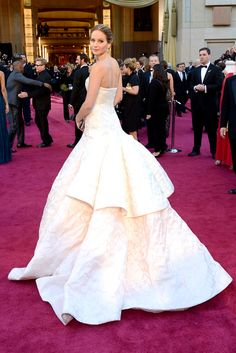 La vuelta real  Jennifer Lawrence. Premios OSCAR 2013.