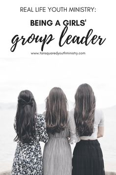 Leading a girls small group? Tina has been with her group of girls for 4 years now and today is sharing all about her adventures in girls ministry! Tansquared Youth Ministry