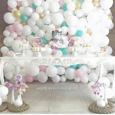 Beautiful colours with the baloons