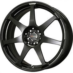 "Rin Drag Wheel DR31 Negro Mate 15x6.5"" 4/100-114.3"