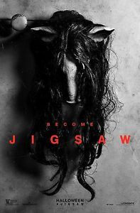 A new poster has been released for the eighth movie in the Saw series, Jigsaw. Seven years after we last saw the um, Saw killer Jigsaw Horror Movie Posters, Horror Movies, Scary Movies, New Movies, 2017 Movies, Watch Movies, Movies Point, Imdb Movies, Movies Free
