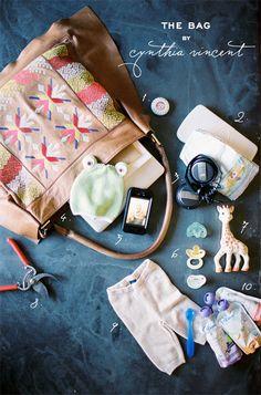 Joy Thigpen Diaper Bag Essentials