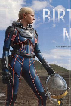 """Charlize Theron as Meredith Vickers from """"Prometheus"""" would be a GREAT action figure 