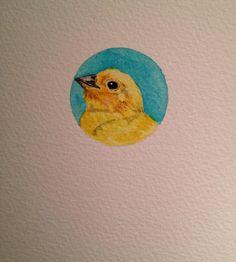 Mini Canary by Liz Carlson Arts and Illustration, 2015