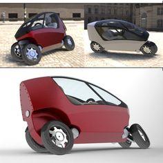 2CV Kit car -  Tilting Electric commuter.  4 wheel vehicle.