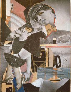 #hannah #hoech #dadaism #collage #da #dandy #1919