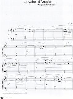 Özel Piyano Dersi: Yann Tiersen - La Valse d'Amelie Piyano Notaları
