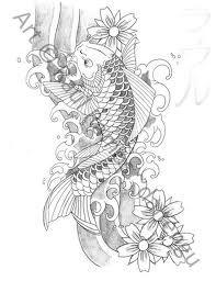 koi fish tattoo designs - Google Search