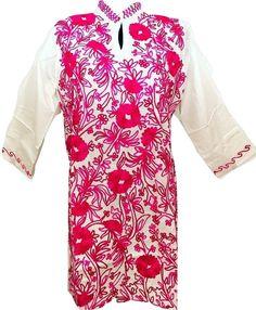A personal favorite from my Etsy shop https://www.etsy.com/listing/507920828/women-100-cotton-tunic-dress-kurti-kurta