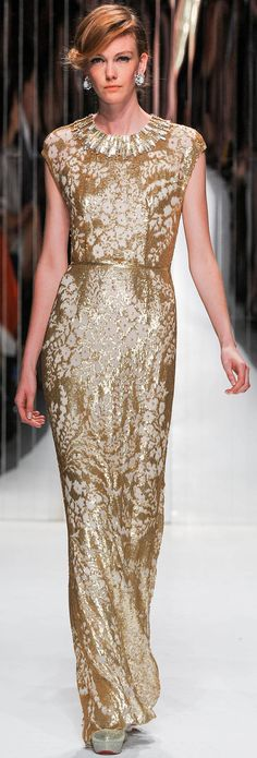 Jenny Packham Spring Summer 2013 Ready-To-Wear Collection<3<3
