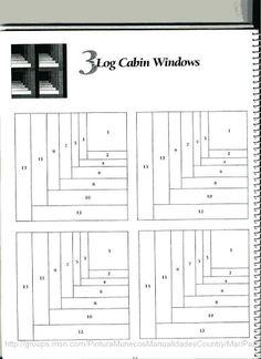 101 LogCabinBlocks - Aderita Rubio - Picasa Albums Web