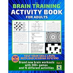 Brain Teaser Games, Brain Games, Train Activities, Book Activities, Brain Trainer, Brain Training Games, Puzzle Books, Alcohol Markers