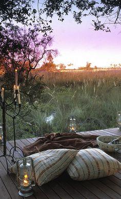 ** Sandibe Safari Lodge - Okavango Delta, Botswana  - Explore the World with Travel Nerd Nici, one Country at a Time. http://TravelNerdNici.com
