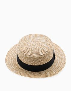 Sombrero gondolero paja - null - MUJER  241fef86b09
