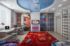 Детская комната (для двух мальчиков) - design-project.pro