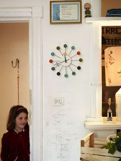 The Ball Clock will playfully help your kids to learn telling the time.