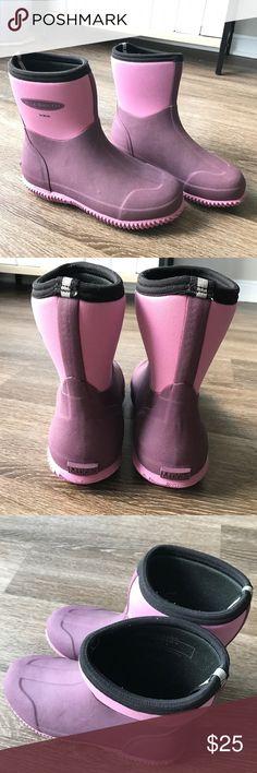 Brand New Muck Boot WAA-404 Women&39s BlackHot Pink Arctic Adventure