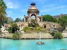 Parc De La Ciutadella, Barcelona, Spain..