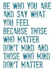 Dr. Suess, favorite quote