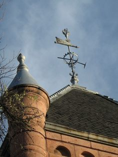 Weathervane on Church