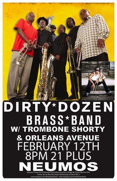 The Dirty Dozen Brass Band, Trombone Shorty