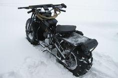 Полноприводный мотоцикл Васюган 2х2