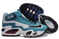 cheaper ce018 cdb69 Nike Air Griffey Max 1 Shoes Water Blue White Black Nike Men, Mens Nike Air
