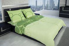 Kombinácia odtieňov zelenkavej farby na posteľných obliečkach Melody vám zaručene spríjemní každú noc.