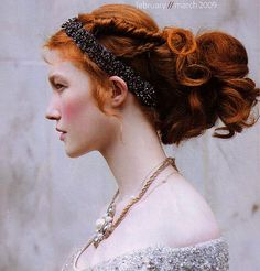 ✄ Fair Hair Flair ✄  Renaissance red head