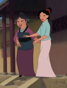 Minimalist Mulan. Digging the maxi skirt. | A Definitive Ranking Of 72 Disney Princess Outfits