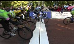 #tob2013 The finish Stage 1